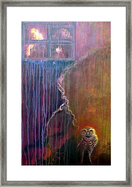 Burrow Framed Print
