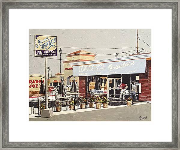 Burr's On Folsom Boulevard Framed Print by Paul Guyer