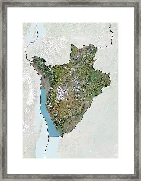 Burundi Framed Print