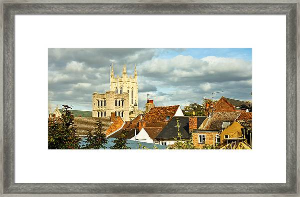 Bury St Edmunds Framed Print
