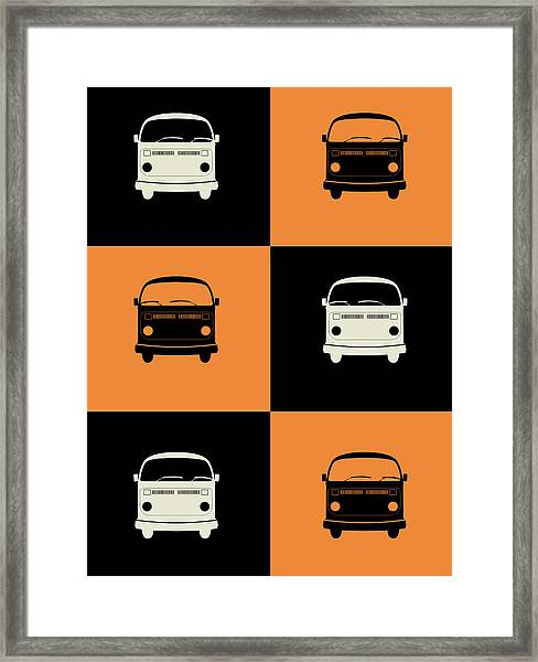 Bus Poster Framed Print