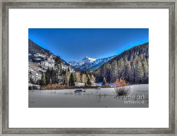 Bush Creek Valley Framed Print
