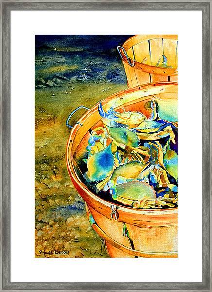 Bushel Of Gold Framed Print