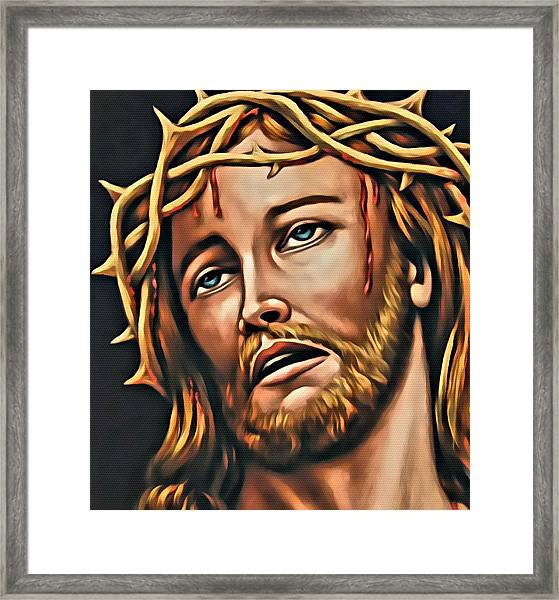 But For Grace Framed Print