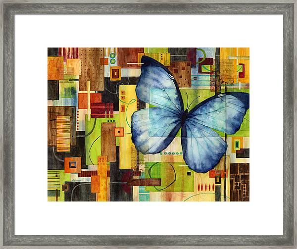 Butterfly Effect Framed Print