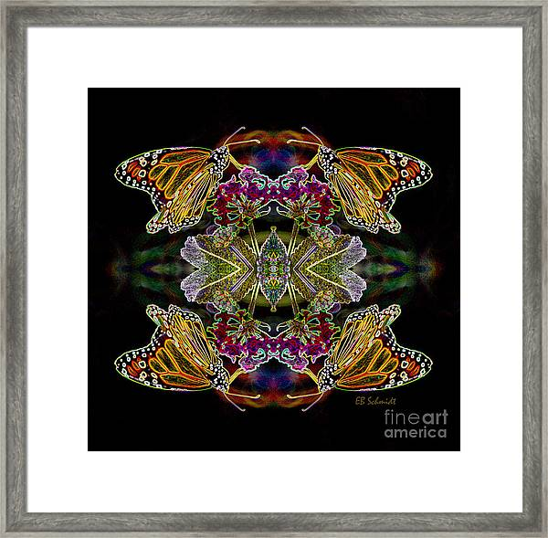 Butterfly Reflections 02 - Monarch Framed Print