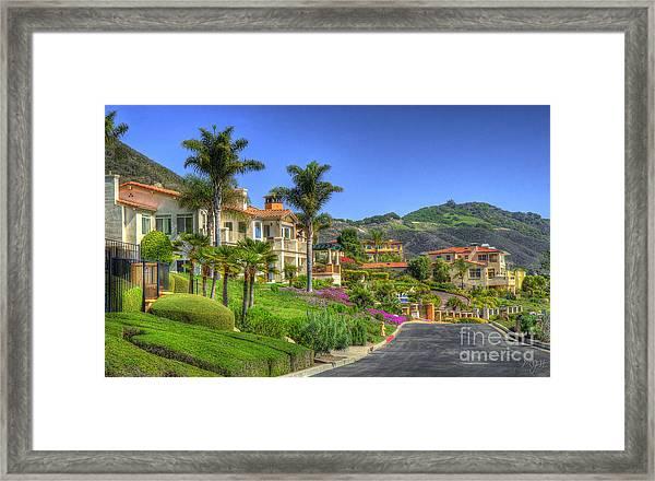 Buy A House Here Framed Print