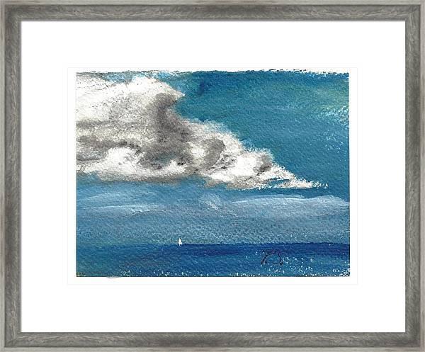 Buzzards Bay  Framed Print