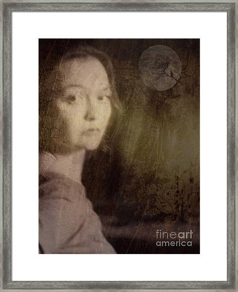 By Moonlight Framed Print