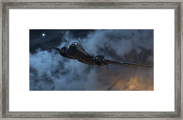 Nightfighter Framed Print