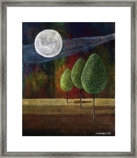 By The Light Framed Print