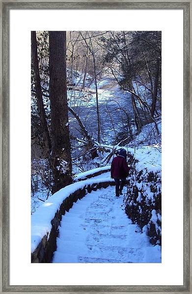 By The River 2 Framed Print by Cynthia Harvey