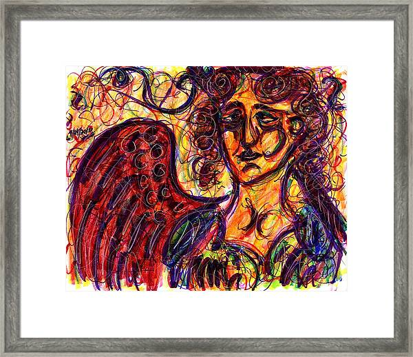 Byzantine Angel Framed Print