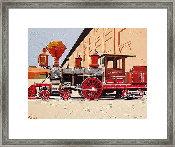 C P Huntington Framed Print by Paul Guyer