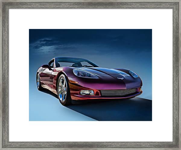 C6 Corvette Framed Print