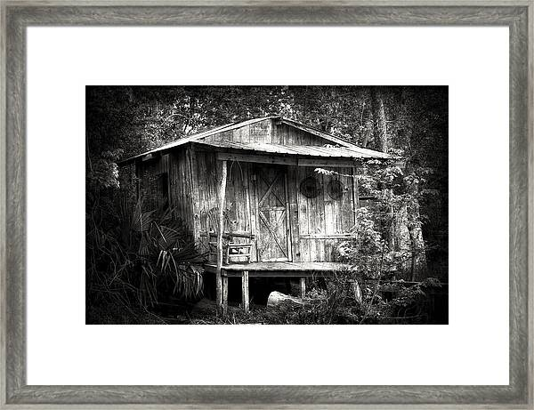 Cabins Of Southern Louisiana Framed Print