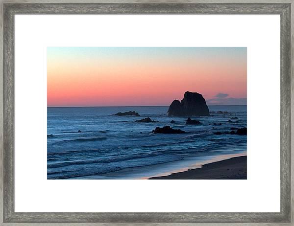 Cable Beach Dusk Framed Print