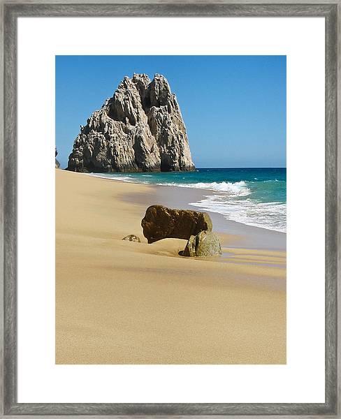 Cabo San Lucas Beach 2 Framed Print