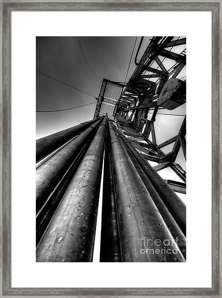 Cac001bw-14 Framed Print