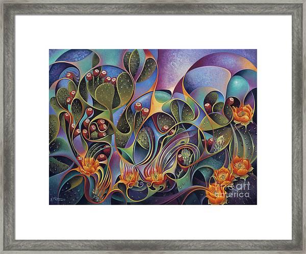 Cactus Dinamicus 3d Framed Print