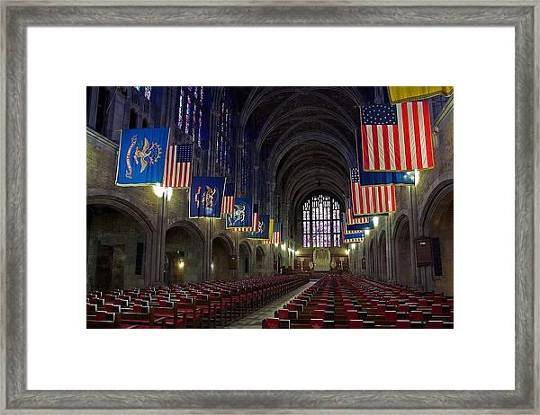 Cadet Chapel At West Point Framed Print