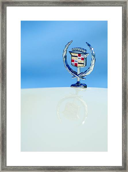 Cadillac Hood Ornament 4 Framed Print