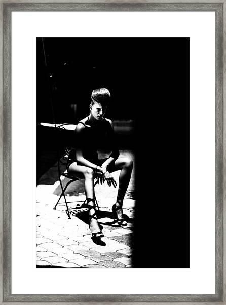 Caelitus Mihi Vires Framed Print