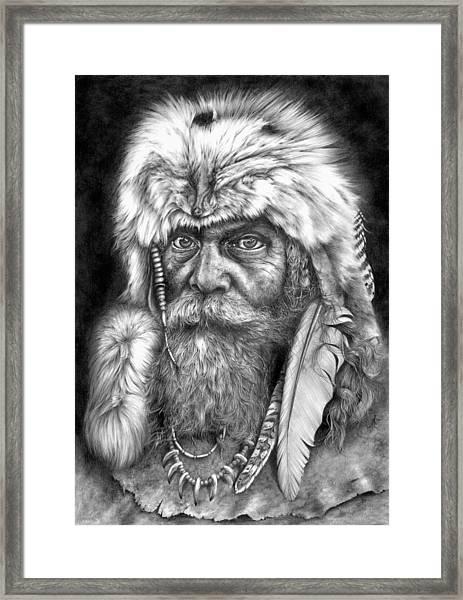 Caesar Of The Wilderness Framed Print