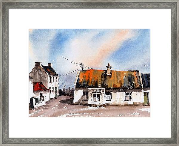 Cahill's Thatched Pub Galmoy Kilkenny Framed Print