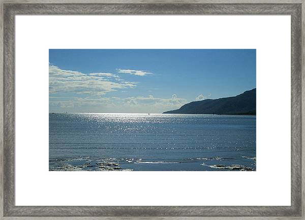 Cairns Waterfront Framed Print