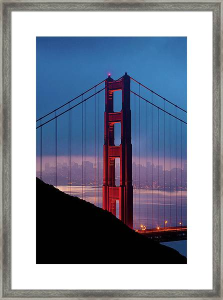 California A Top Global Tourist Framed Print by George Rose