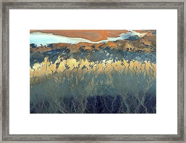 California Aerial Framed Print