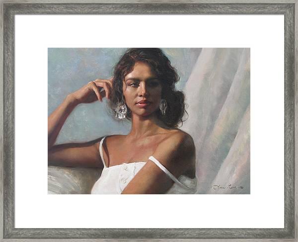 California Beauty Framed Print by Anna Rose Bain