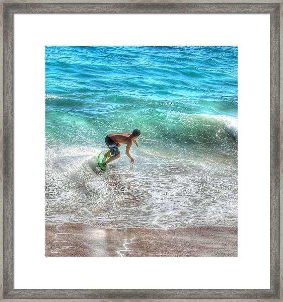 California Boogie Framed Print