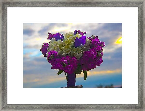 California Bouquet Framed Print