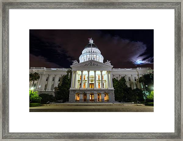 California Capitol Framed Print