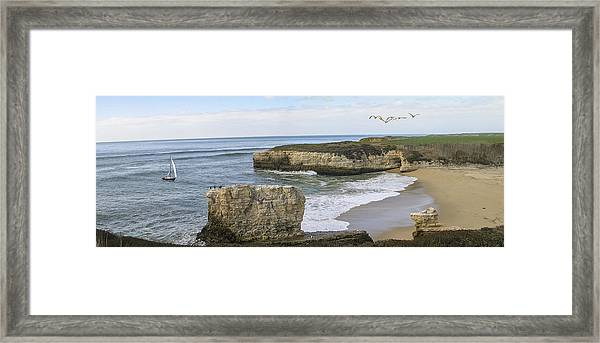 California Cove Framed Print