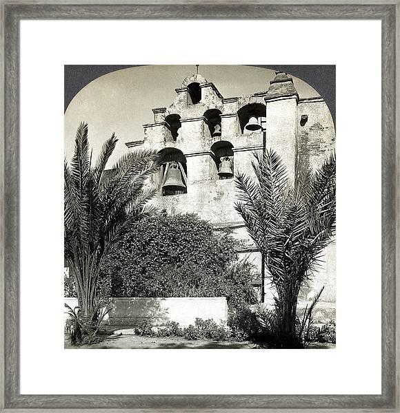 California Mission, C1909 Framed Print