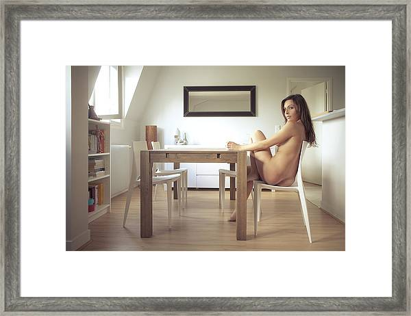 Ca?line Framed Print