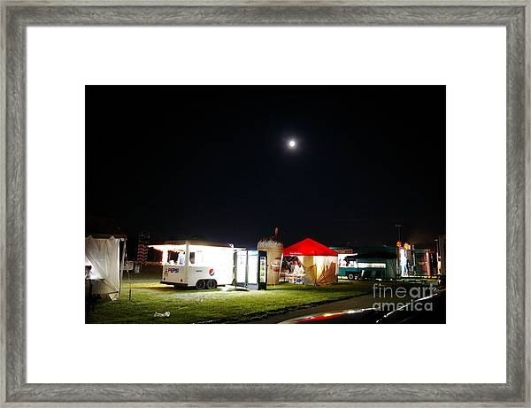 Call It A Night Framed Print