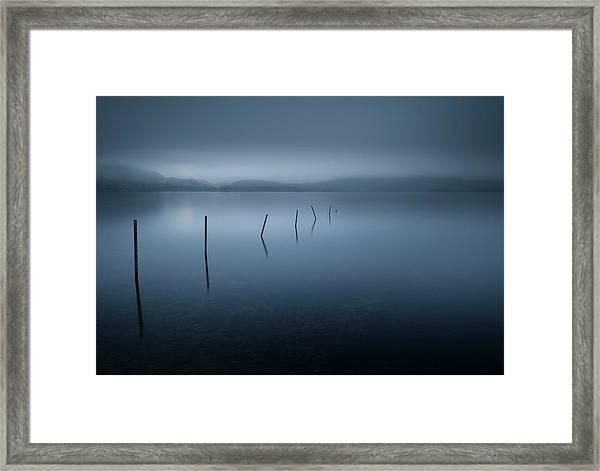 Calm Framed Print by David Ahern