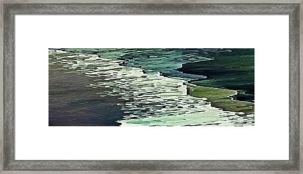 Calm Shores Framed Print