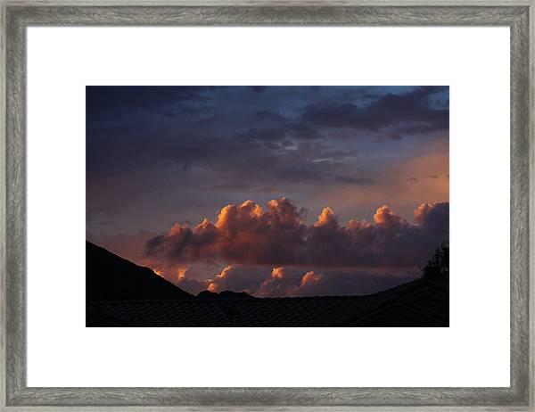 Calm Skies Framed Print