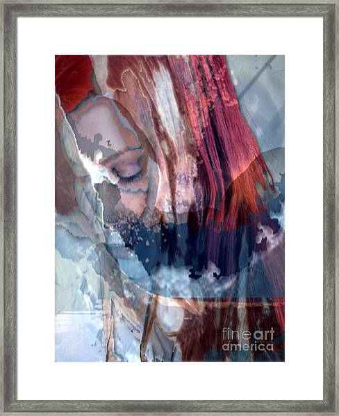Calm Surrender Framed Print