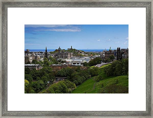 Calton Hill Framed Print