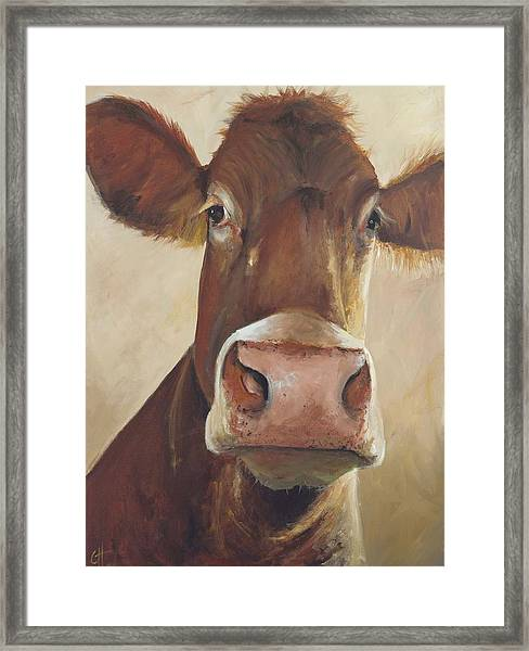 Camile Framed Print by Cari Humphry