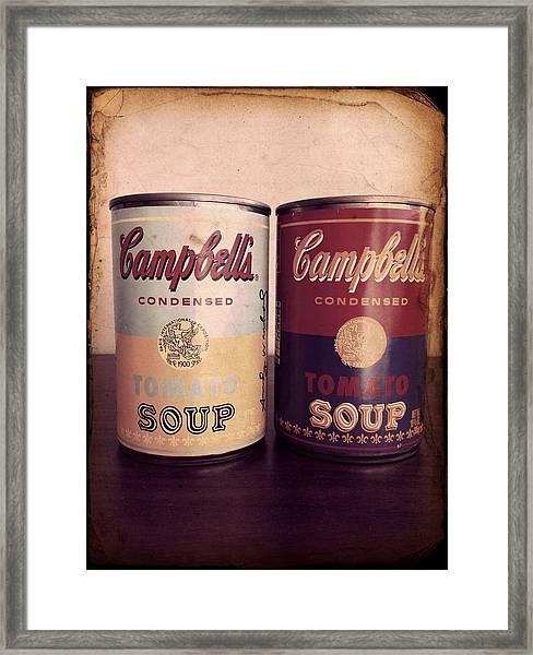 Campbells Redux 2 Framed Print