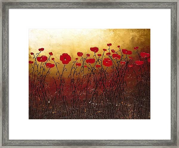 Campo Florido Framed Print