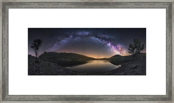 Camporredondo Milky Way Framed Print