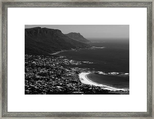 Camps Bay Cape Town Framed Print